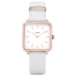 La Tétragone Rose Gold White/White