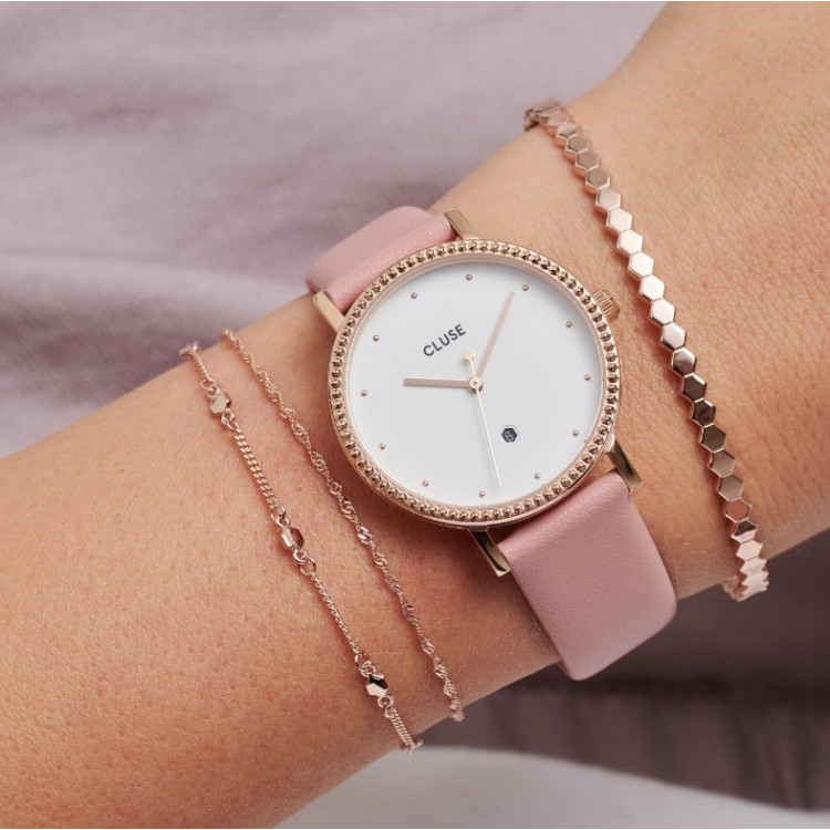 Le Couronnement Rose Gold White/Soft Rose