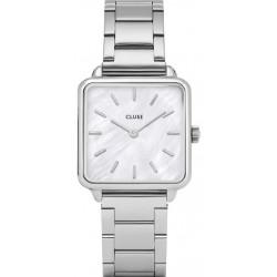 La Tétragone Three Link Silver/White Pearl CL60025S