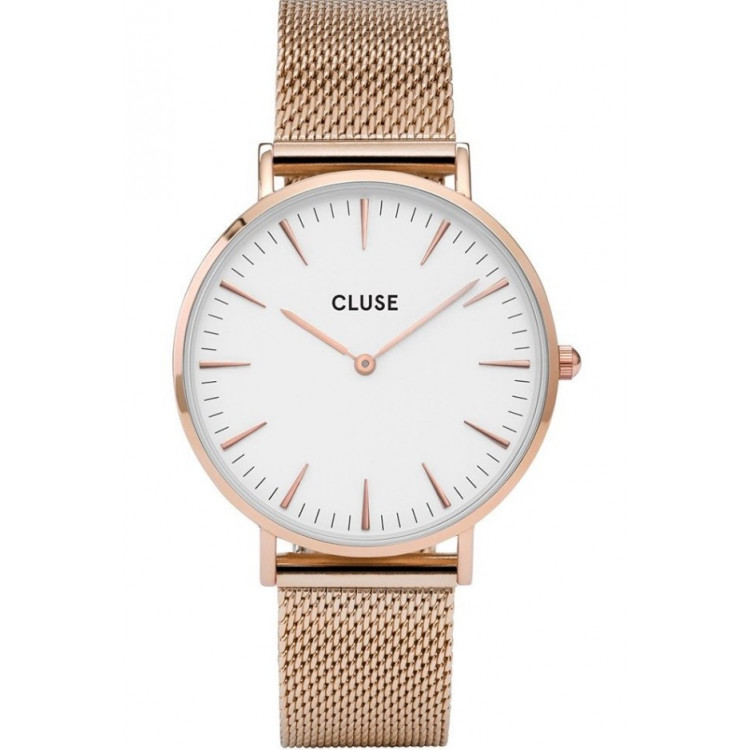 La Bohème Mesh, Rose Gold, White/Rose gold CW0101201001