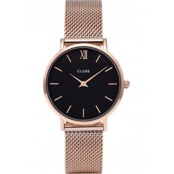 Minuit Mesh Rose Gold Black/Rose gold CW0101203003