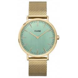 CLUSE La Bohème Mesh, Gold, Stone Green CW0101201027