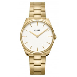 CLUSE Femme Féroce Steel, Gold, White CW0101212005