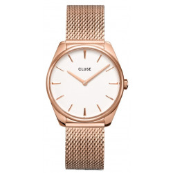 CLUSE Femme Féroce Mesh, Rose Gold, White CW0101212002