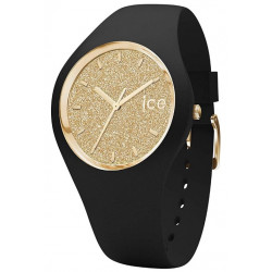ICE-WATCH Femme Ice Glitter Black Gold 001348