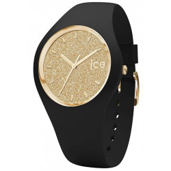 ICE-WATCH Ice Glitter Black/Gold 001355