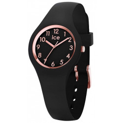 ICE-WATCH Femme Ice Glam Black Rose Gold 015344