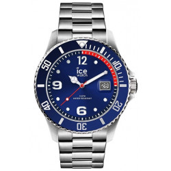 ICE-WATCH Homme Ice Steel Blue Silver 015771