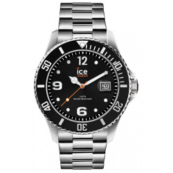 ICE-WATCH Homme Ice Steel Black Silver 016031