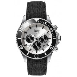 ICE-WATCH Homme Ice Steel Black Silver 016302