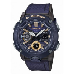 CASIO Montre Homme GA-2000-2AER G-SHOCK Classic Bleu