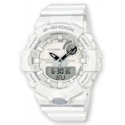 CASIO Montre Homme GBA-800-7AER G-Shock G-Squad Connectée Blanc