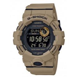CASIO Montre Homme GBD-800UC-5ER G-Shock G-Squad Connectée Marron