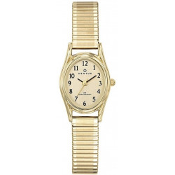 CERTUS Montre Femme 630794 Bracelet Extensible Acier Doré