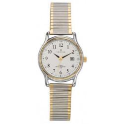 CERTUS Montre Femme 642319 Bracelet Acier Extensible Bicolore