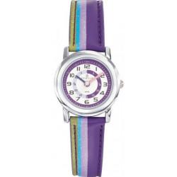 CERTUS JUNIOR Montre Enfant 647380 Cuir Multicolore & Violet