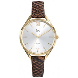 GIRL ONLY Montre Femme 699274 Cuir Marron & Doré