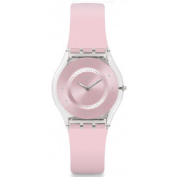 SWATCH Skin Montre Femme SFE111 Silicone Rose