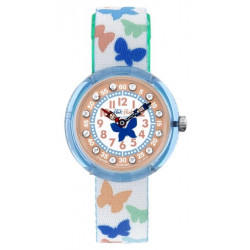 FLIK FLAK Montre Fille FBNP099 Papilletta Multicolore