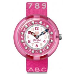 FLIK FLAK Montre Fille FBNP133 Pink AB34 Rose