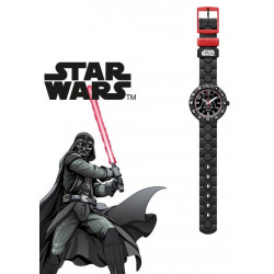 FLIK FLAK Montre Garçon FFLP005 Star Wars Darth Vader Plastique Noir