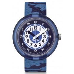 FLIK FLAK Montre Enfant FPNP017 Night Guards Bleu