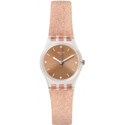 SWATCH Femme Pinkindescent Too Rose Silicone LK354D