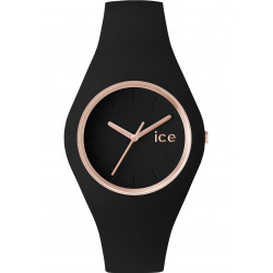 Ice-Glam Black Rose Gold Medium Femme