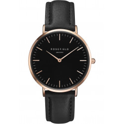 The Bowery Black Black Rose Gold
