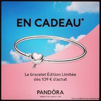 Pandora célèbre la fête des mères en vous offrant un bracelet jonc dès 109€ d'achat !  __________________________________ Offre valable jusqu'au 10 Juin dans la limite des stocks disponibles. Nous vous attendons ☺️ L'Equipe Orland 🌟